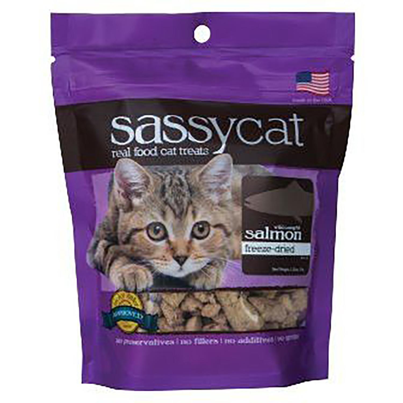 Herbsmith Sassy Cat Treat - Wild Caught Salmon