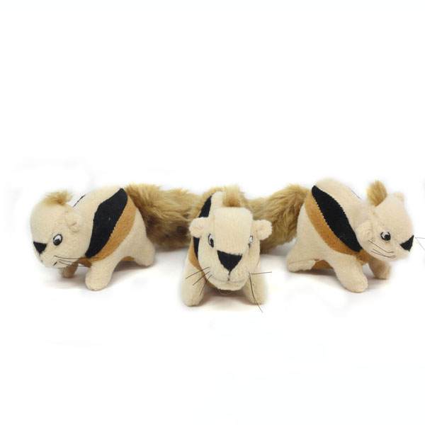 Hide-a-Squirrel Plush Dog Toy Squirrel Replacements