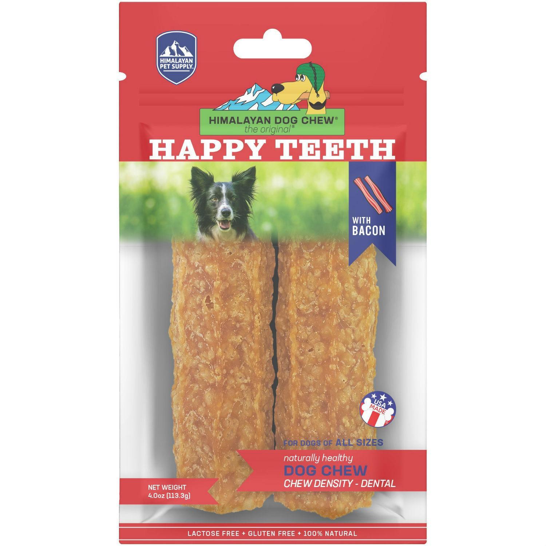 Himalayan Happy Teeth Dog Treat - Bacon