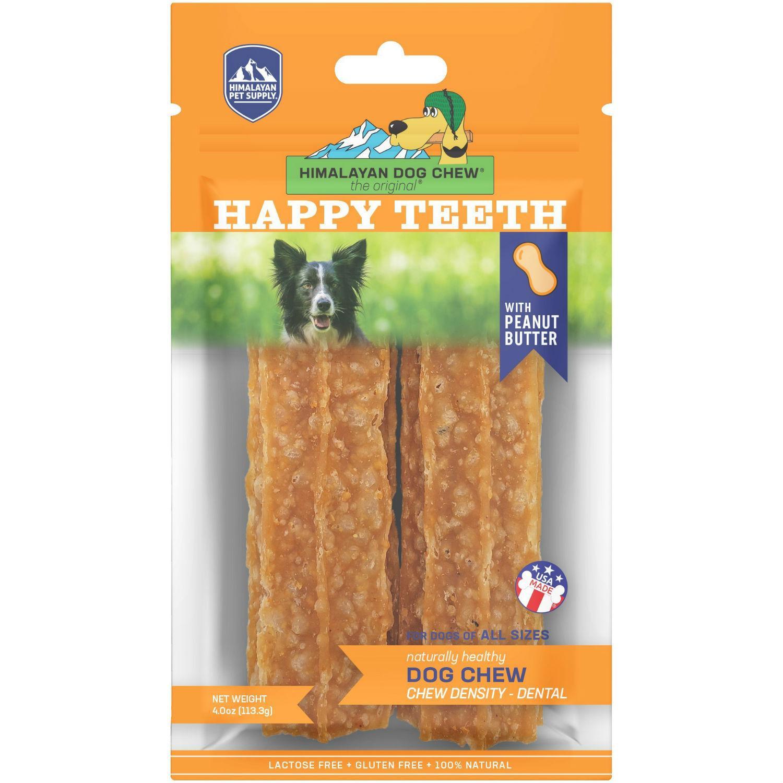 Himalayan Happy Teeth Dog Treat - Peanut Butter