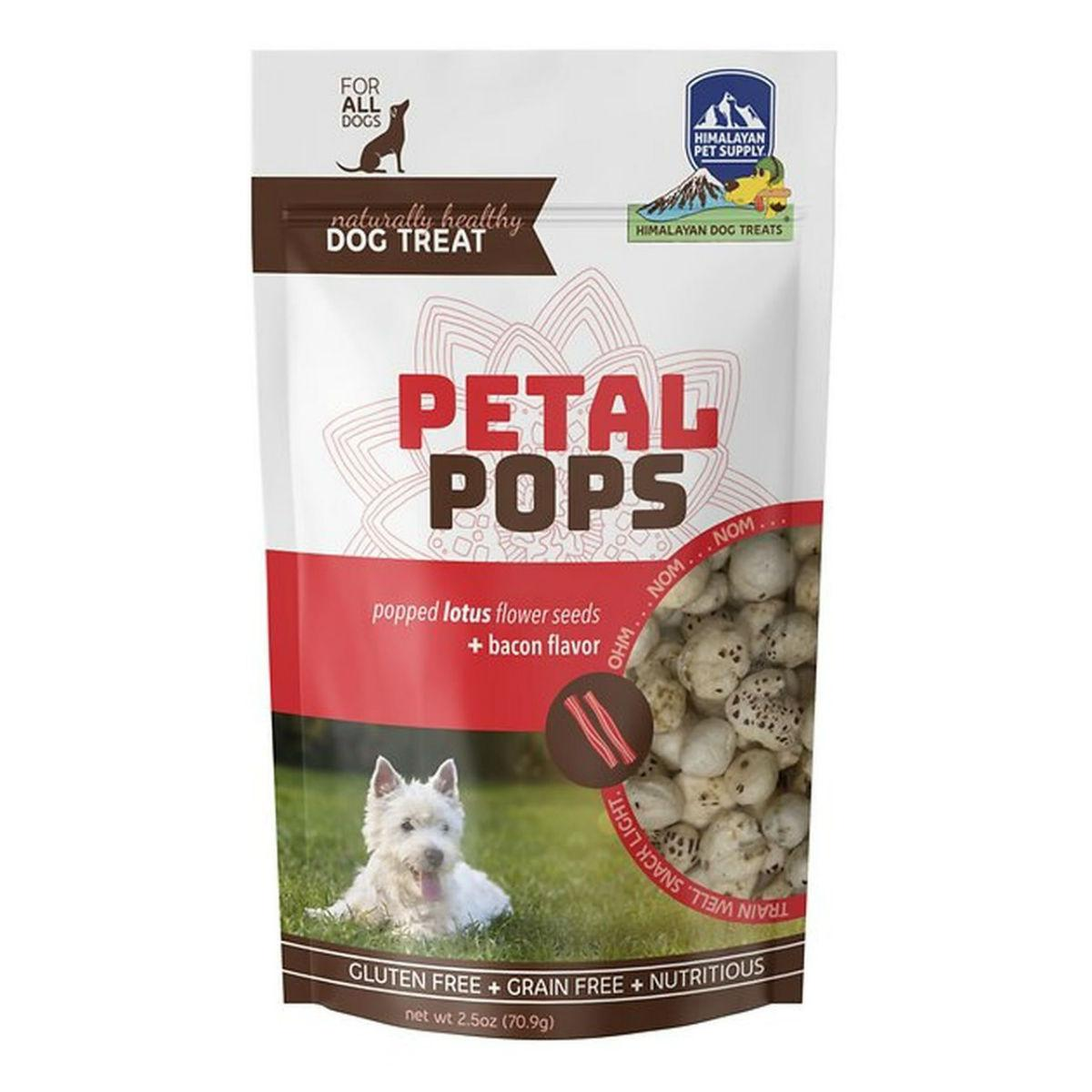 Himalayan Petal Pops Dog Treat - Bacon