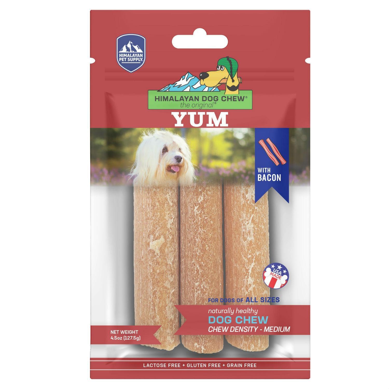 Himalayan Yacky Yum Dog Treat - Bacon
