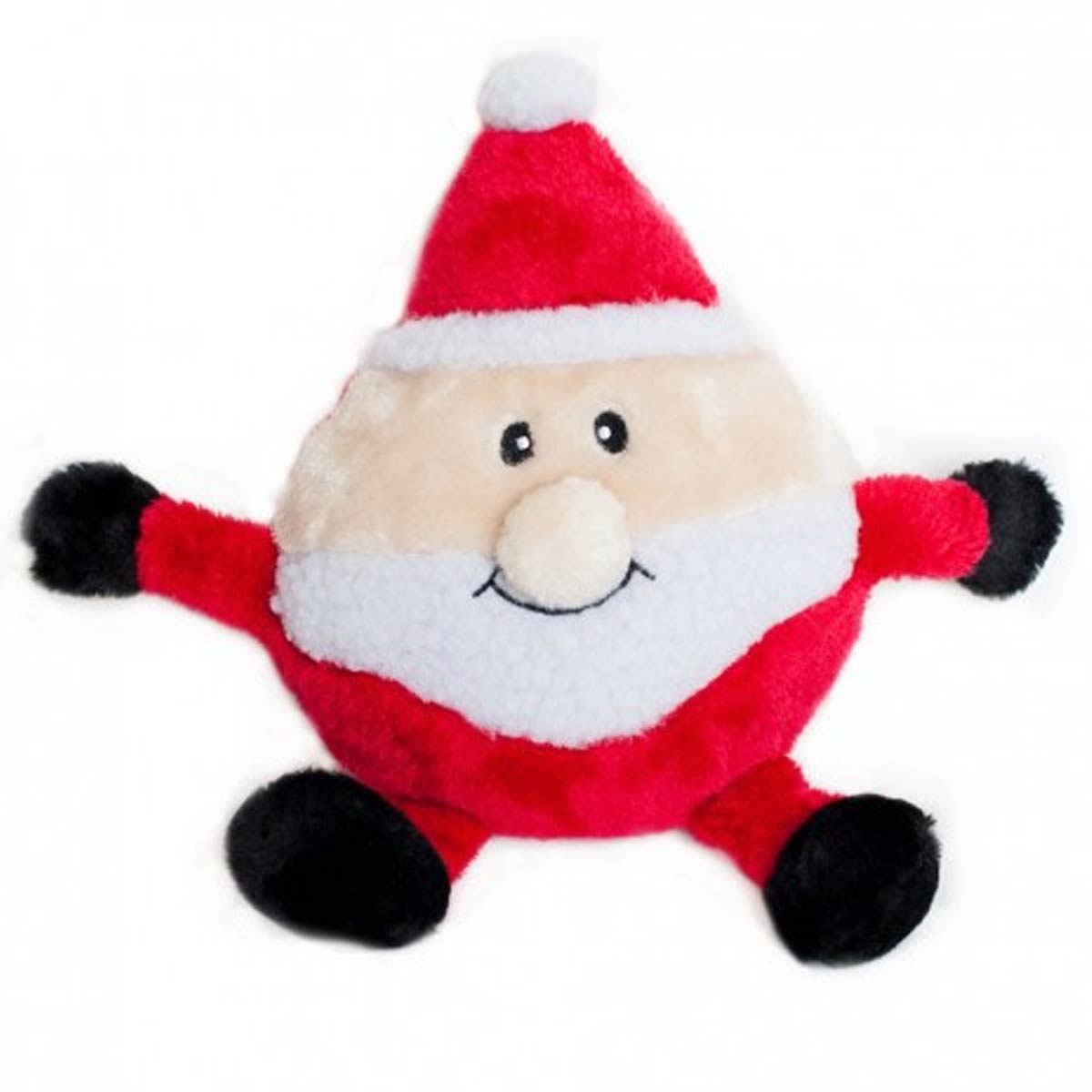 Toys From Santa : Holiday brainey dog toy santa baxterboo