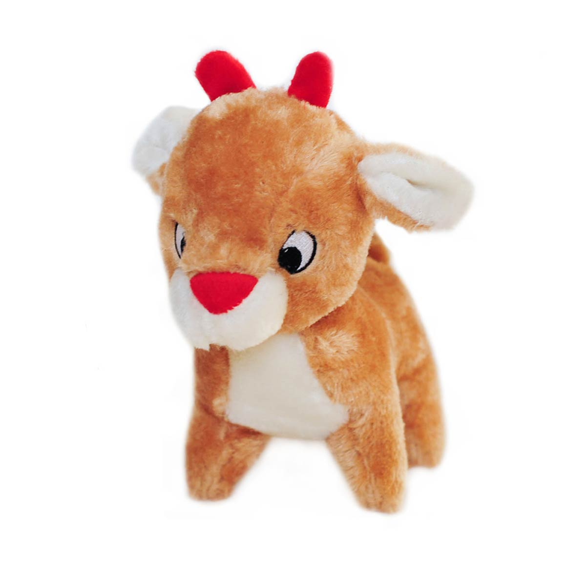 Holiday Deluxe Dog Toy - Reindeer