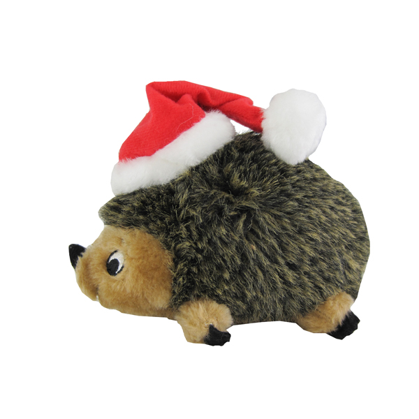 Outward Hound's Holiday Hedgehogz Dog Toy