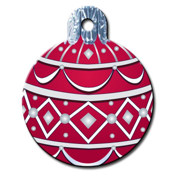 Holiday Ornament Engravable Pet I.D. Tag