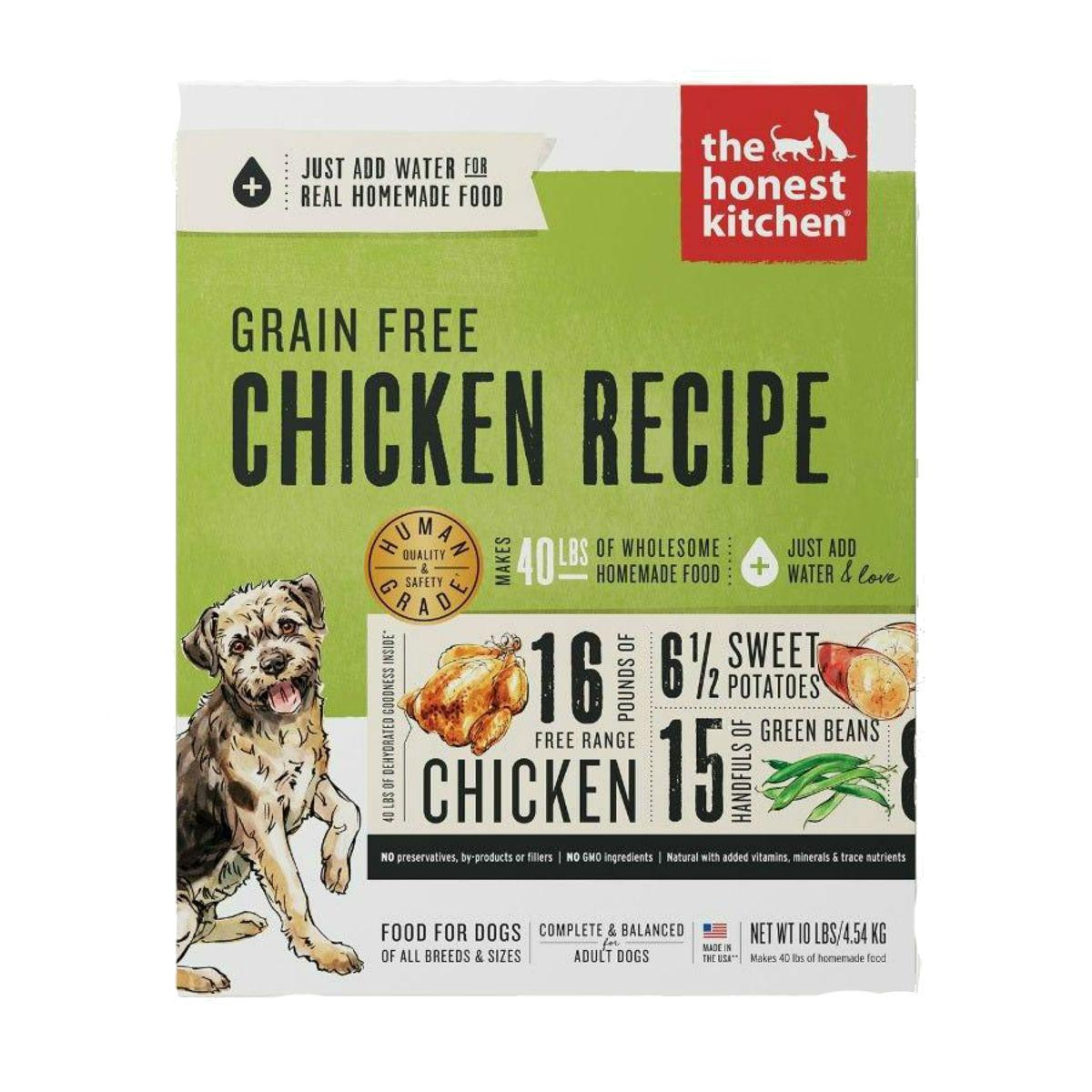 The Honest Kitchen Force Grain-Free Dehydrated Dog Food - Chicken