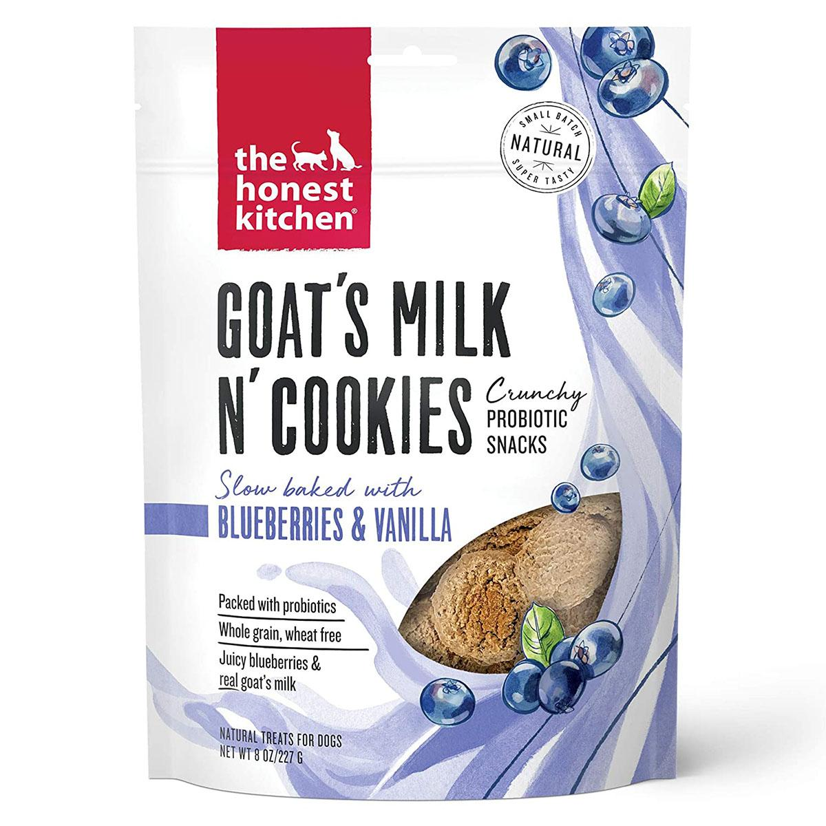The Honest Kitchen Goat's Milk N' Cookies Dog Treats - Blueberries & Vanilla Recipe