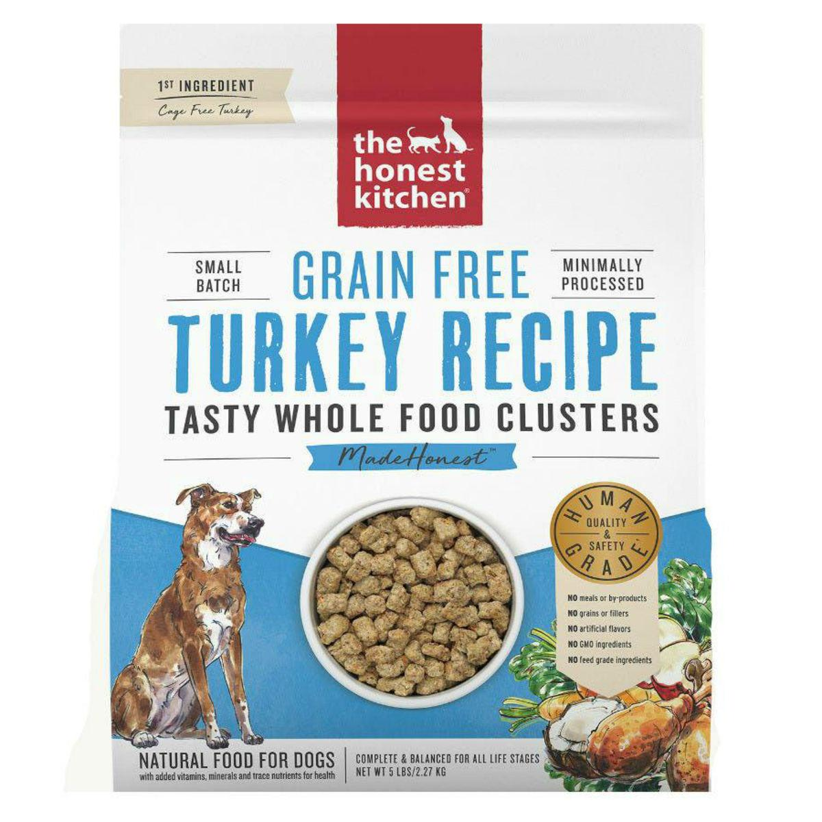 The Honest Kitchen Grain Free Whole Food Clusters Dog Food - Turkey
