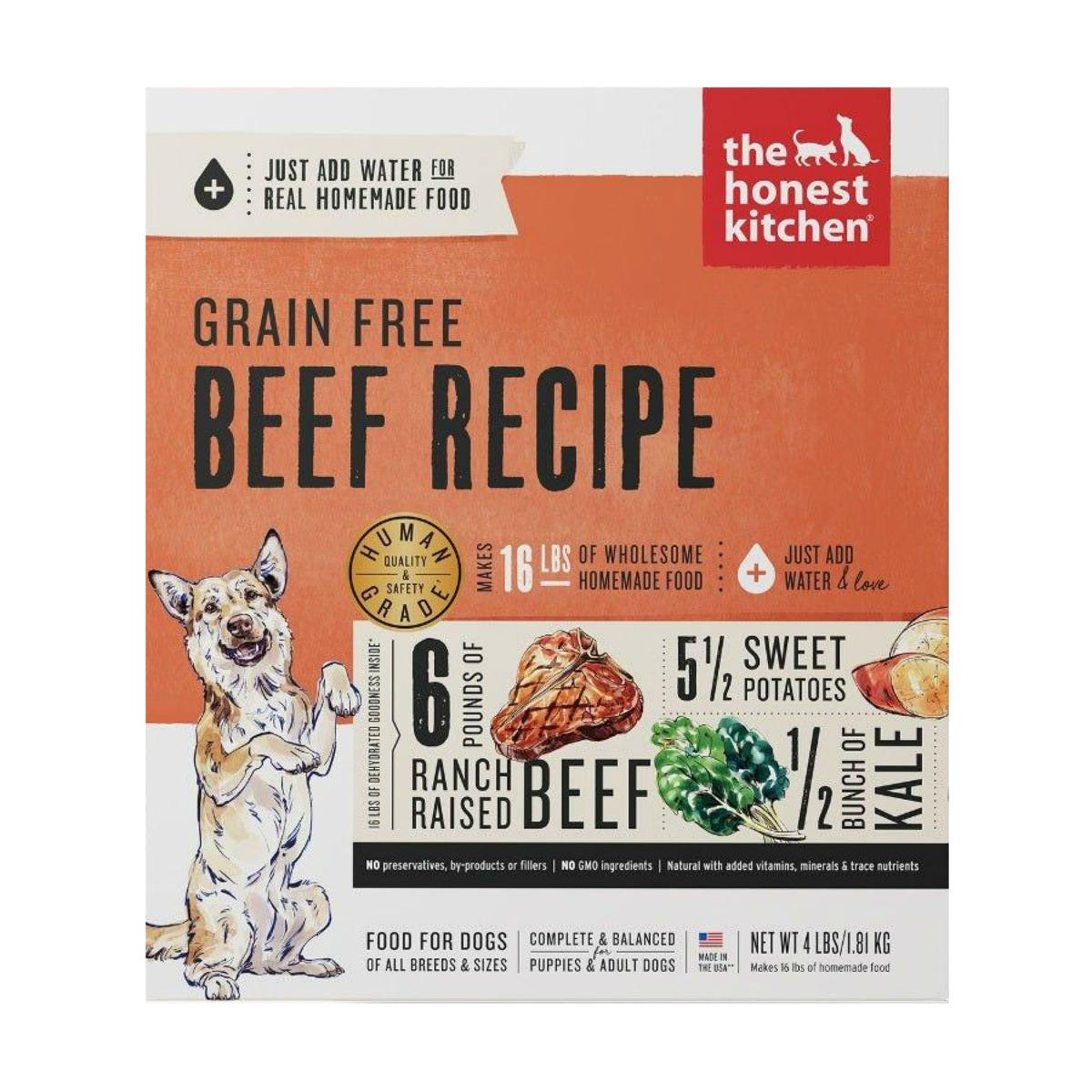 The Honest Kitchen Love Grain-Free Dehydrated Dog Food - Beef