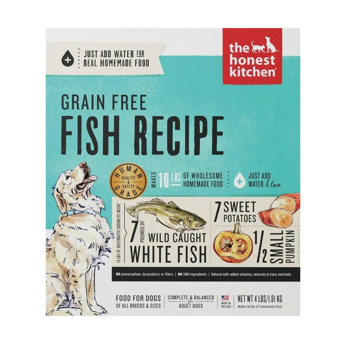 The Honest Kitchen Zeal Grain-Free Dehydrated Dog Food - Fish