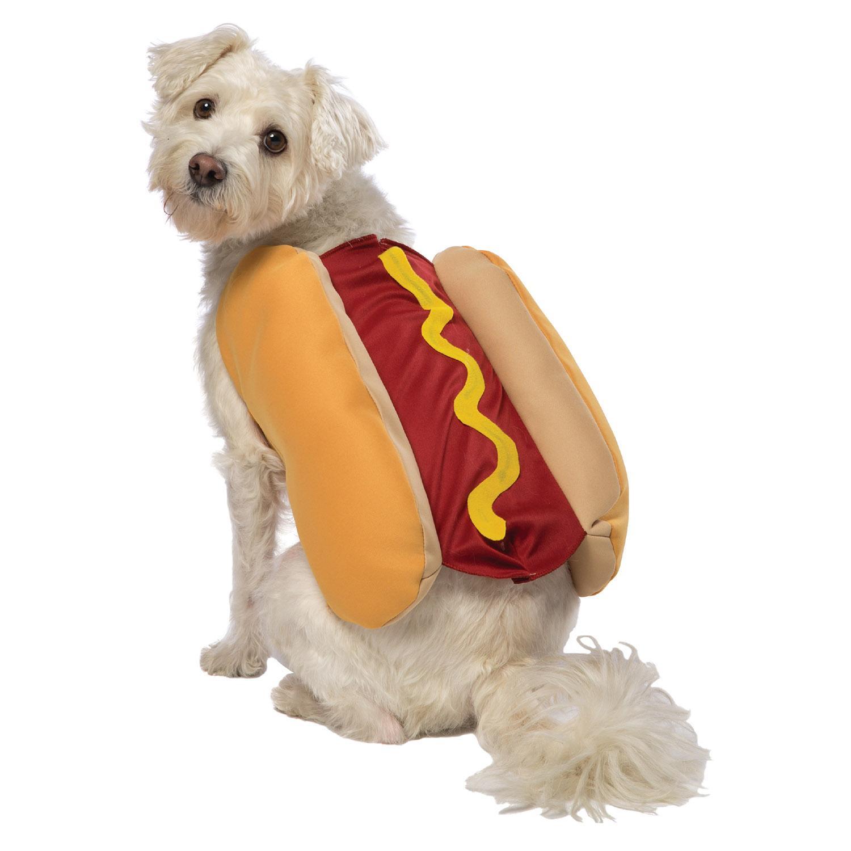 Hot Dog with Mustard Dog Costume by Rasta Imposta