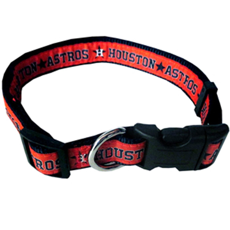 Houston Astros Officially Licensed Ribbon Dog Collar