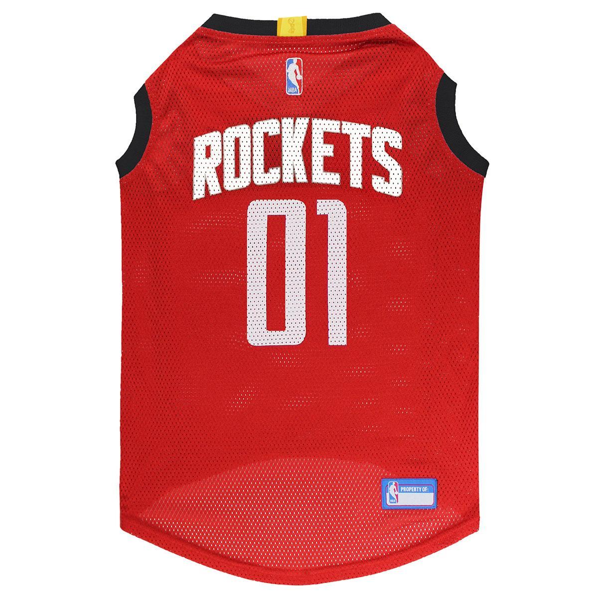 Houston Rockets Dog Jersey