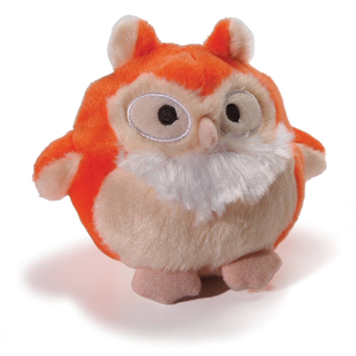 Howling Hoots Dog Toy - Orange