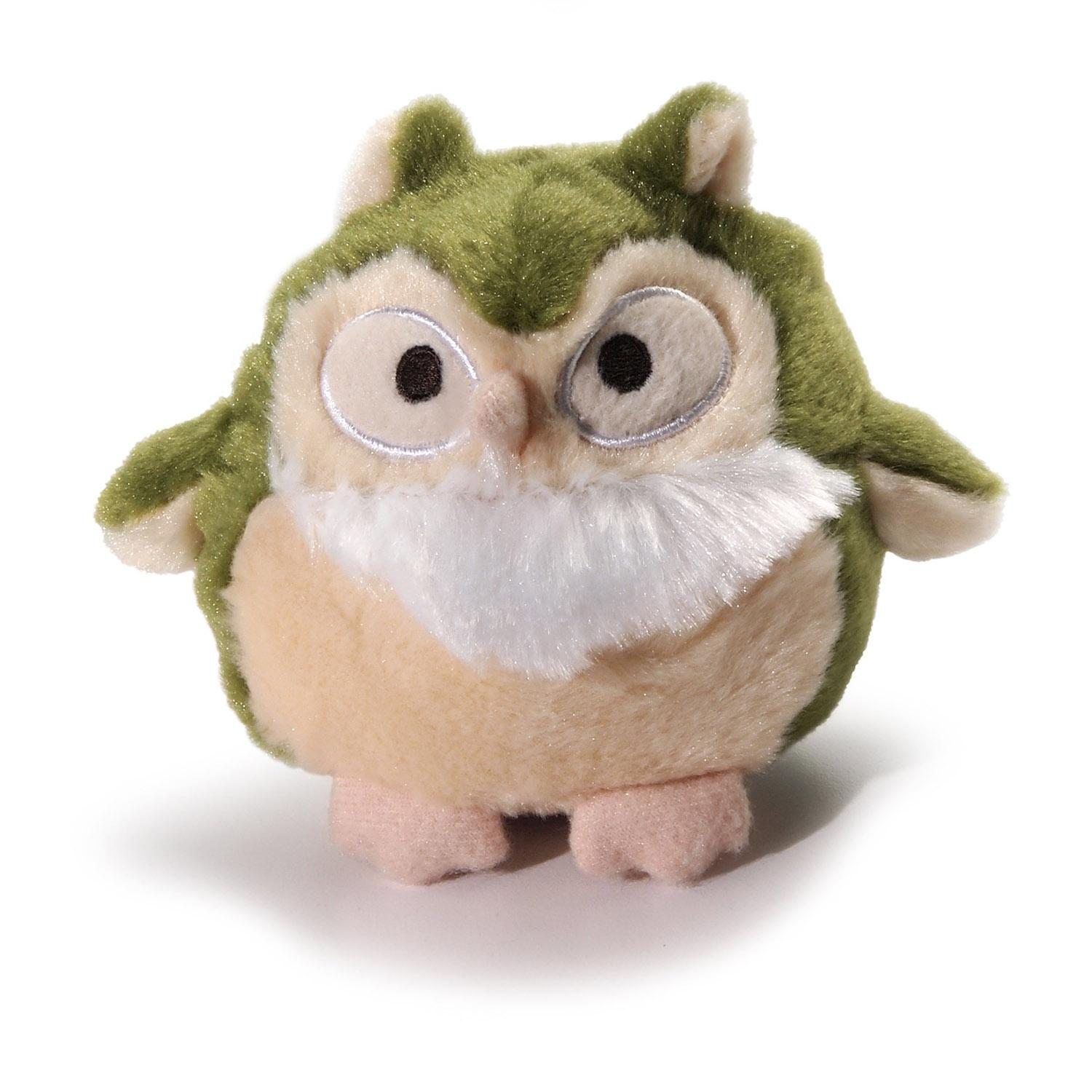 Charming Pet Howling Hoots Dog Toy - Green