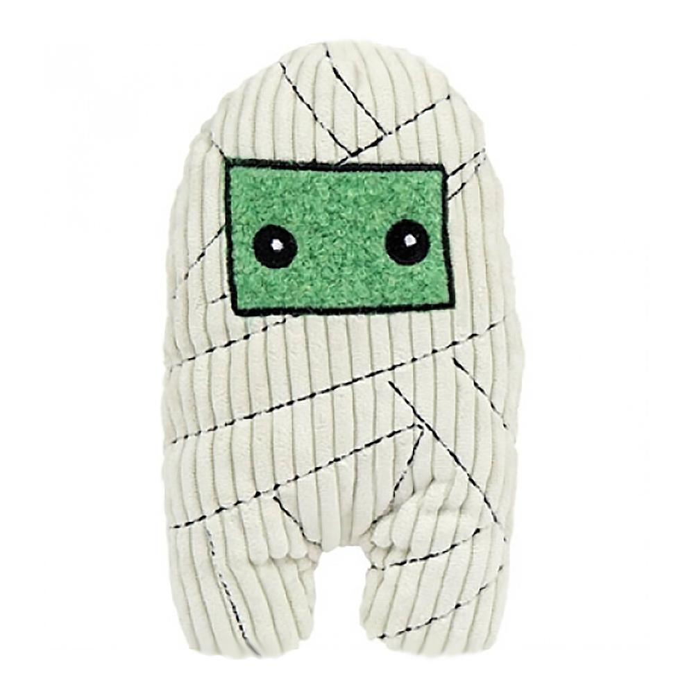 HuggleHounds Halloween Plush Treat Dog Toy - Mummy