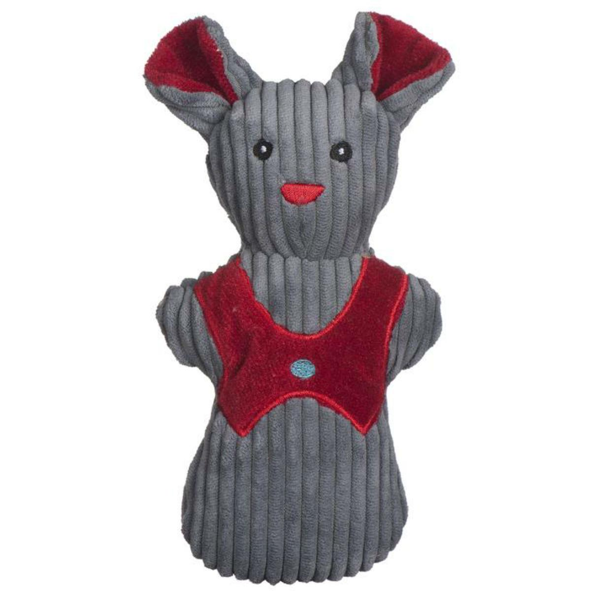 HuggleHounds Holiday Cookie Collection Dog Toy - Mouse