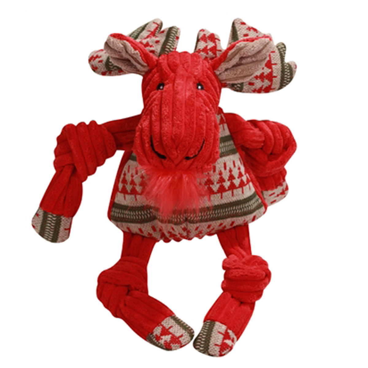 Hugglehounds knottie nordic moose dog toy with same day for Super tuff dog toys