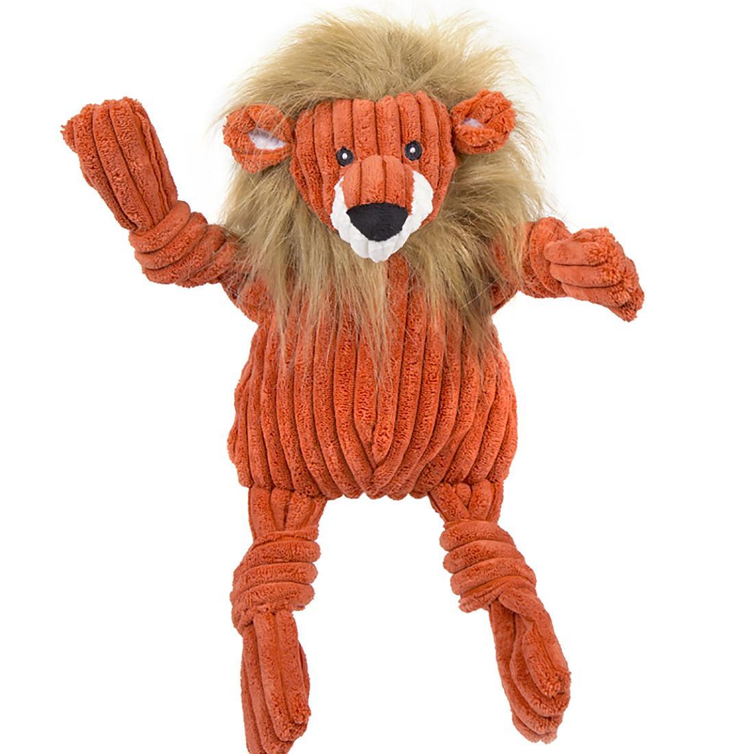HuggleHounds Knotties Dog Toy - Lion