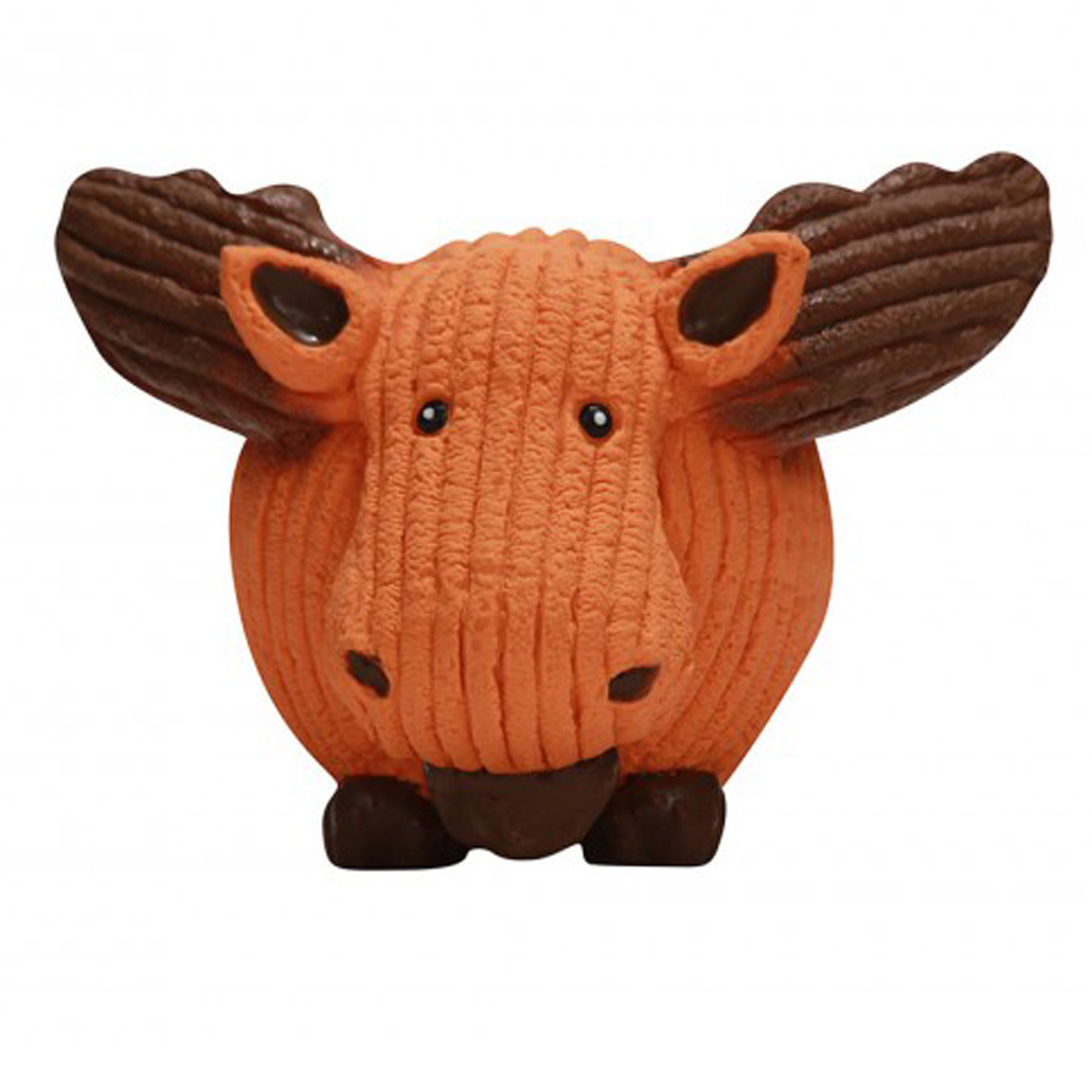 HuggleHounds Ruff-Tex Dog Toy - Moose