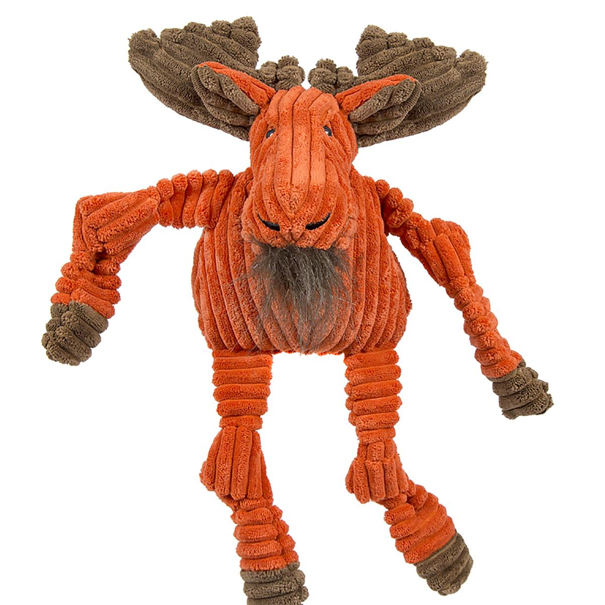 HuggleHounds Woodland Knotties Dog Toy - Moose