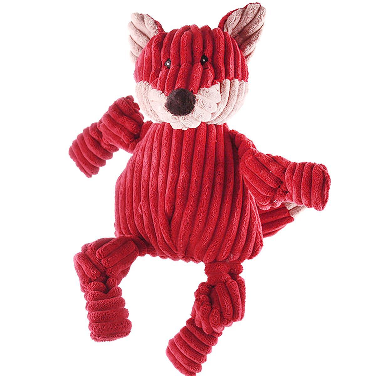 HuggleHounds Woodland Knotties Dog Toy - Fox