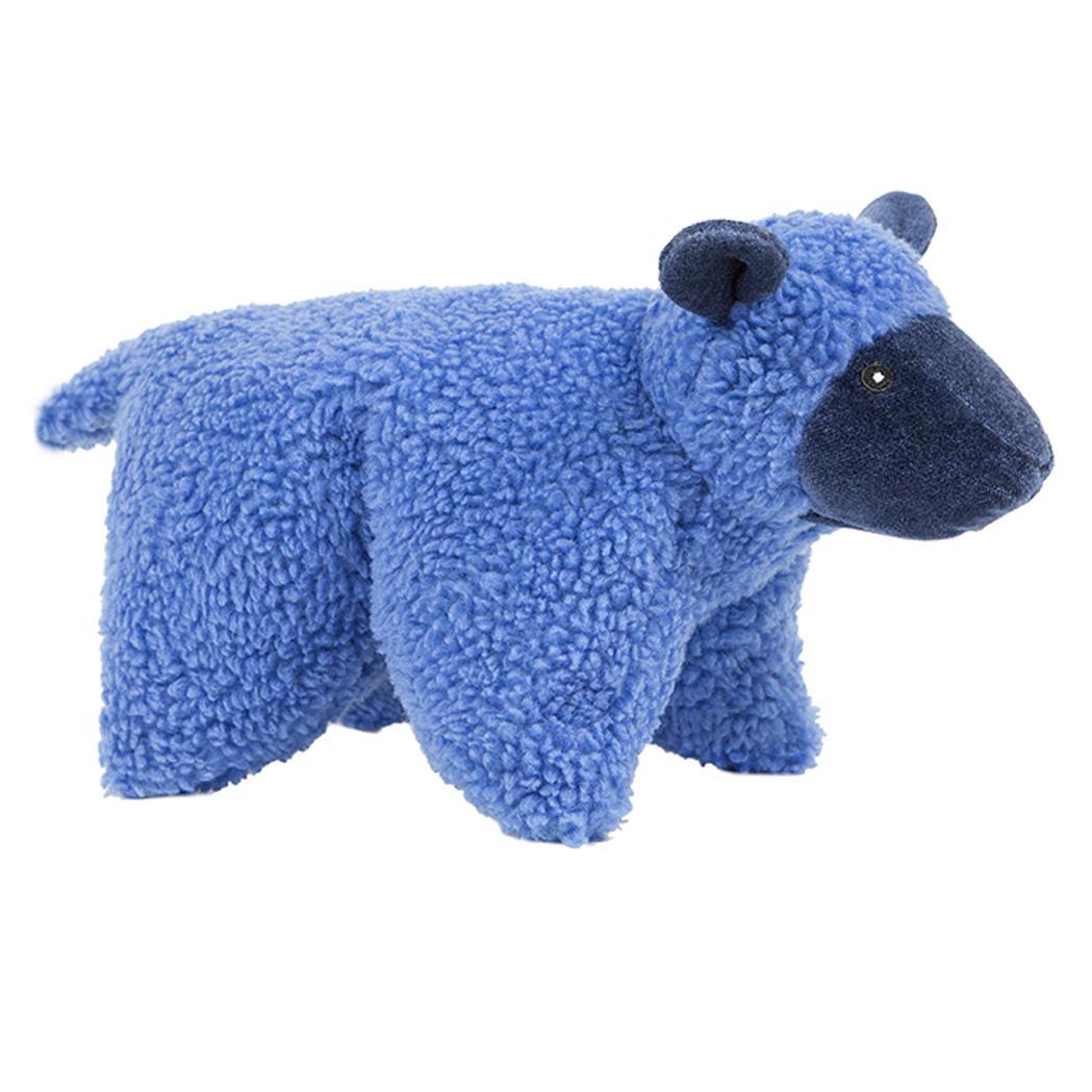 HuggleHounds Barnyard Squooshie Plush Dog Toy - Lamb