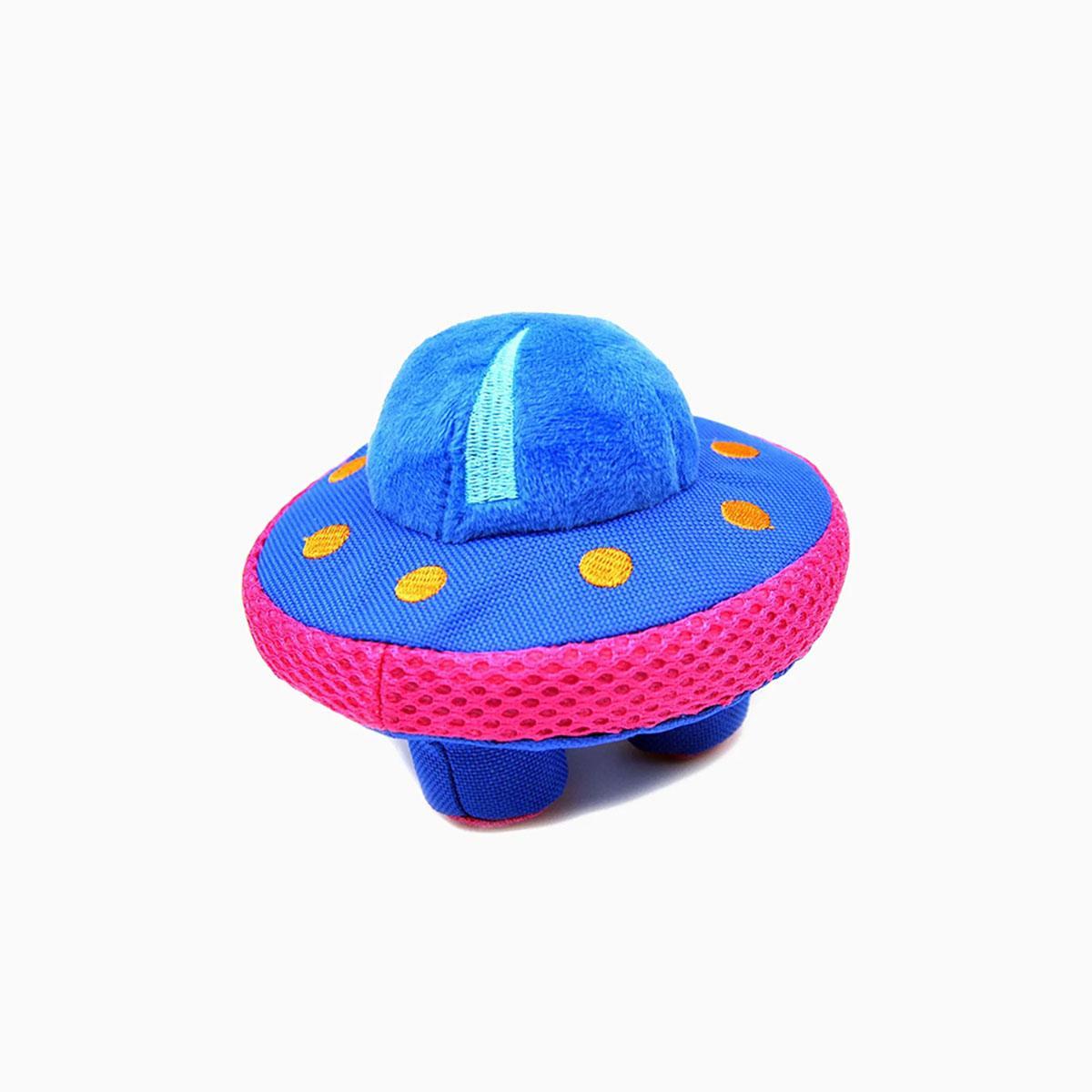 HugSmart Paw Invasion Dura Guard Dog Toy - UFO