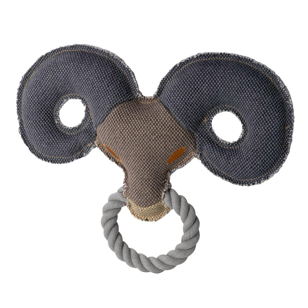 HUNTER Canvas Ring Dog Toy - Sheep