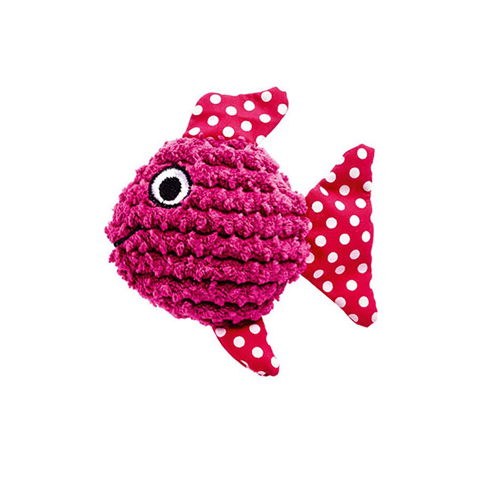 HUNTER Mamou Fish Cat Toy - Pink