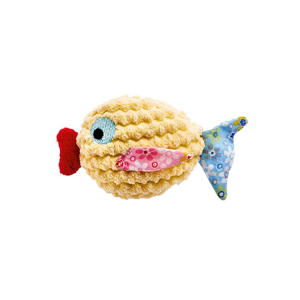 HUNTER Mamou Fish Cat Toy - Yellow
