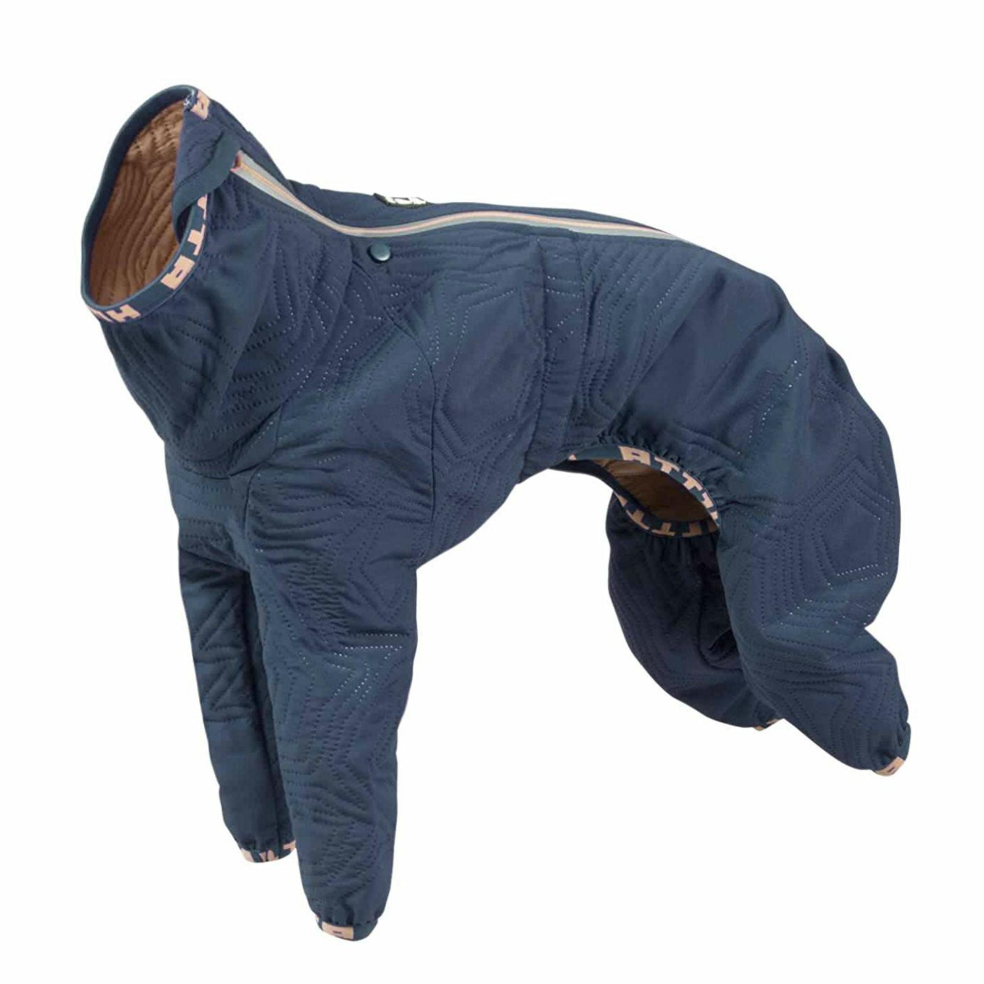 Hurtta Casual Quilted Dog Overall - River
