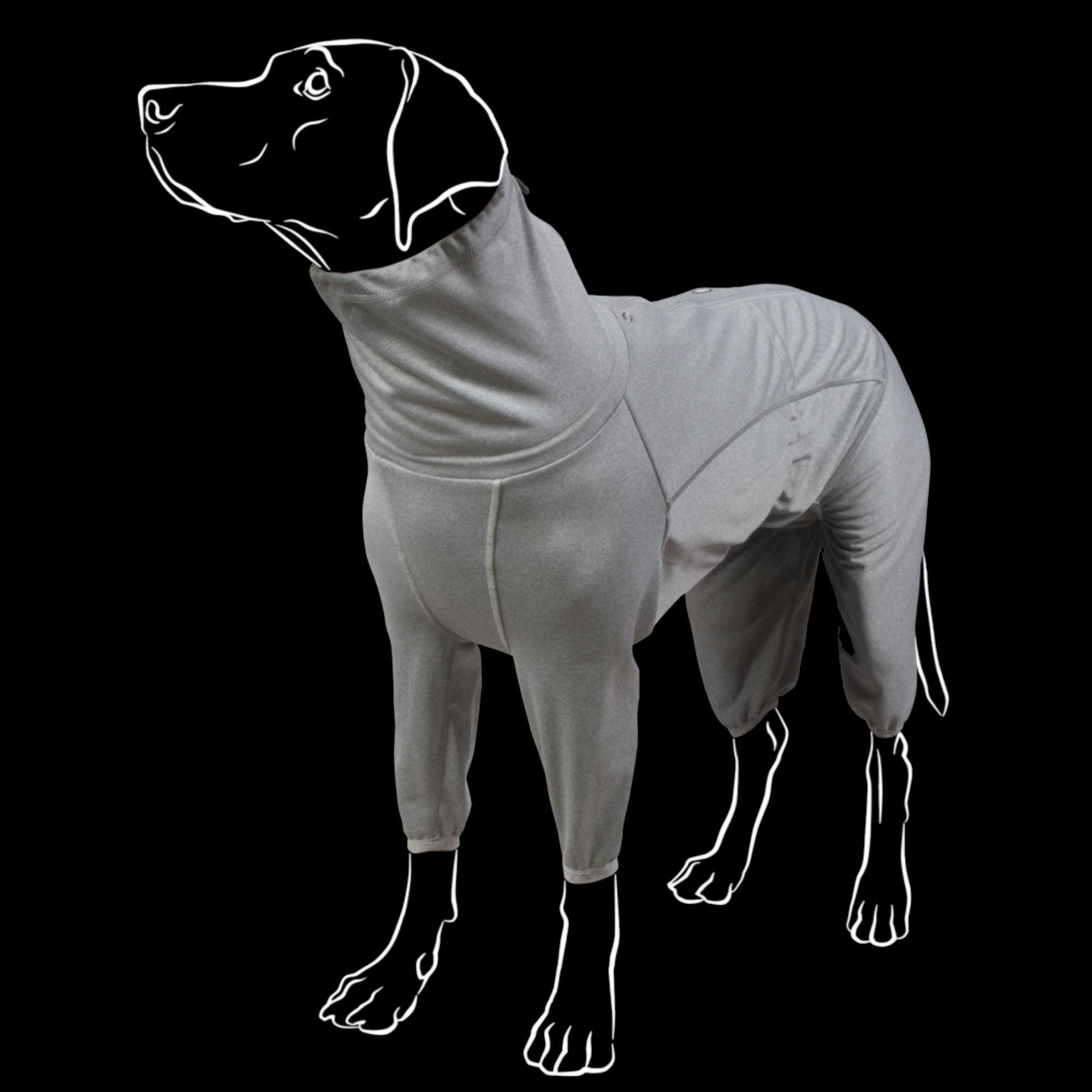 Hurtta Dog Body Warmer - Carbon Grey