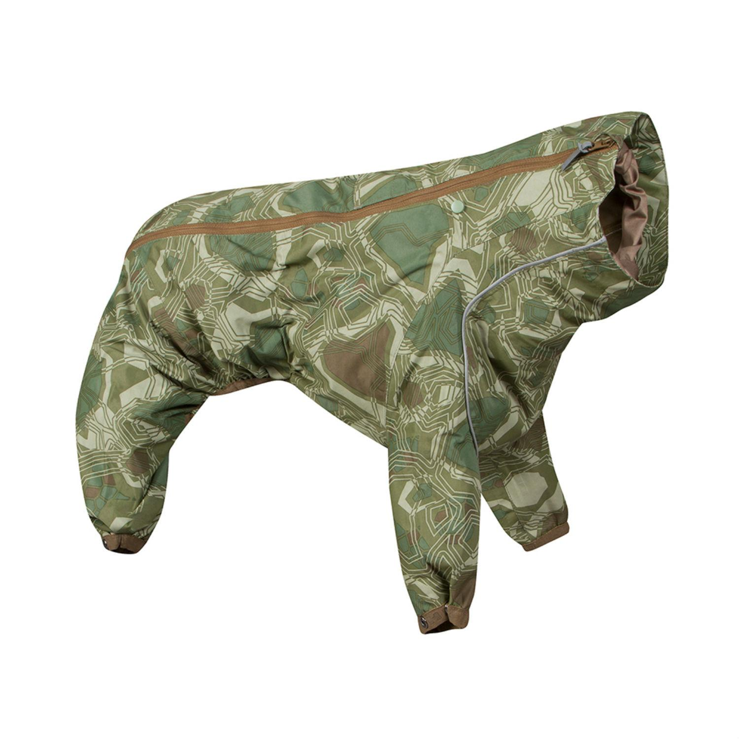 Hurtta Downpour Overall Dog Suit - Camo