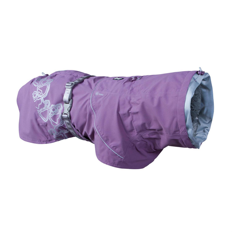 Hurtta Drizzle Dog Raincoat - Currant