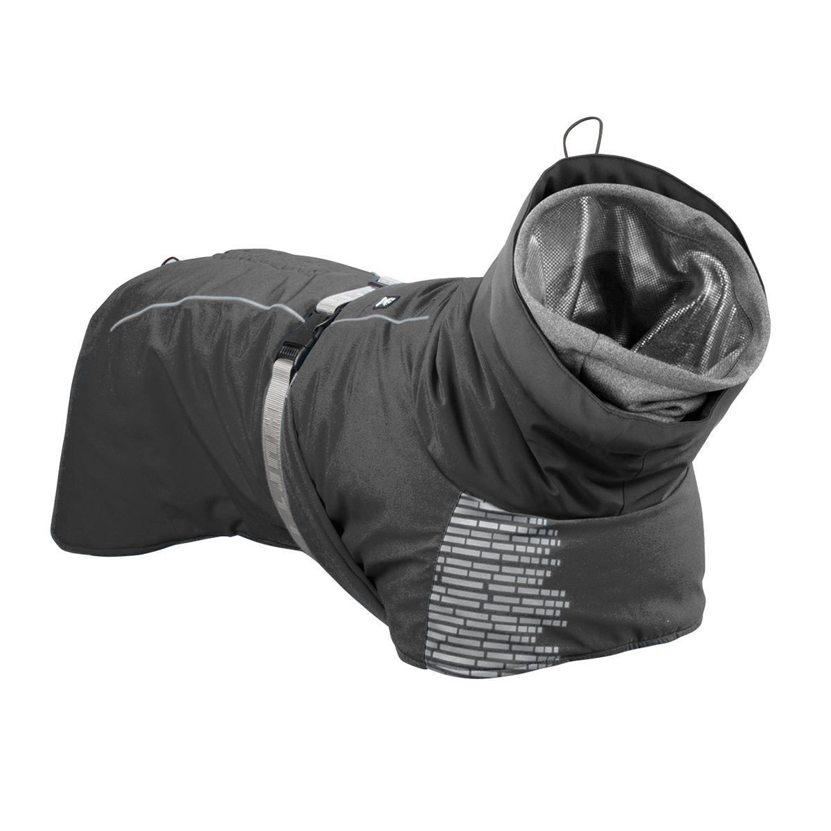 Hurtta Extreme Warmer Dog Coat - Granite Gray