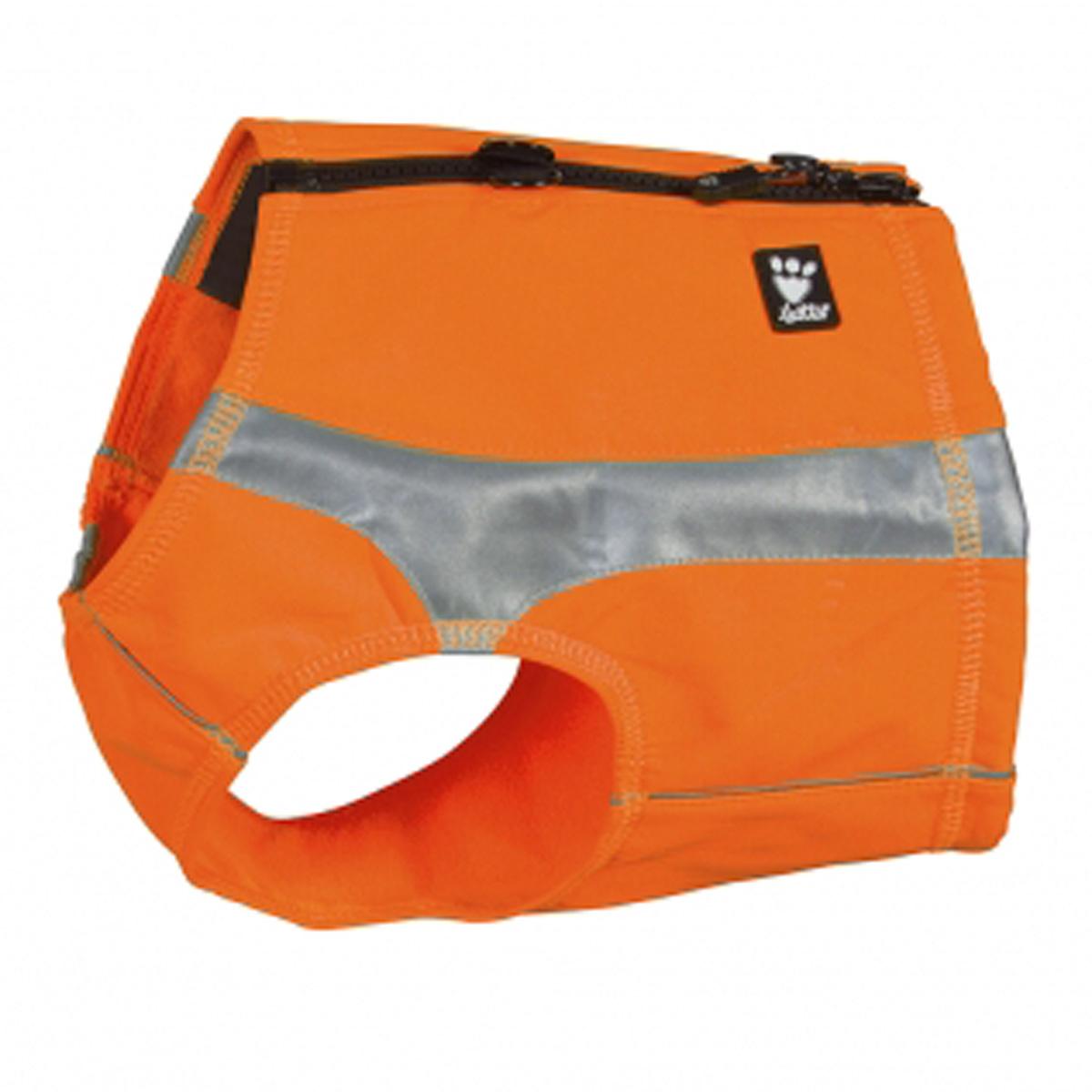 Hurtta Polar Visibility Dog Vest - Orange