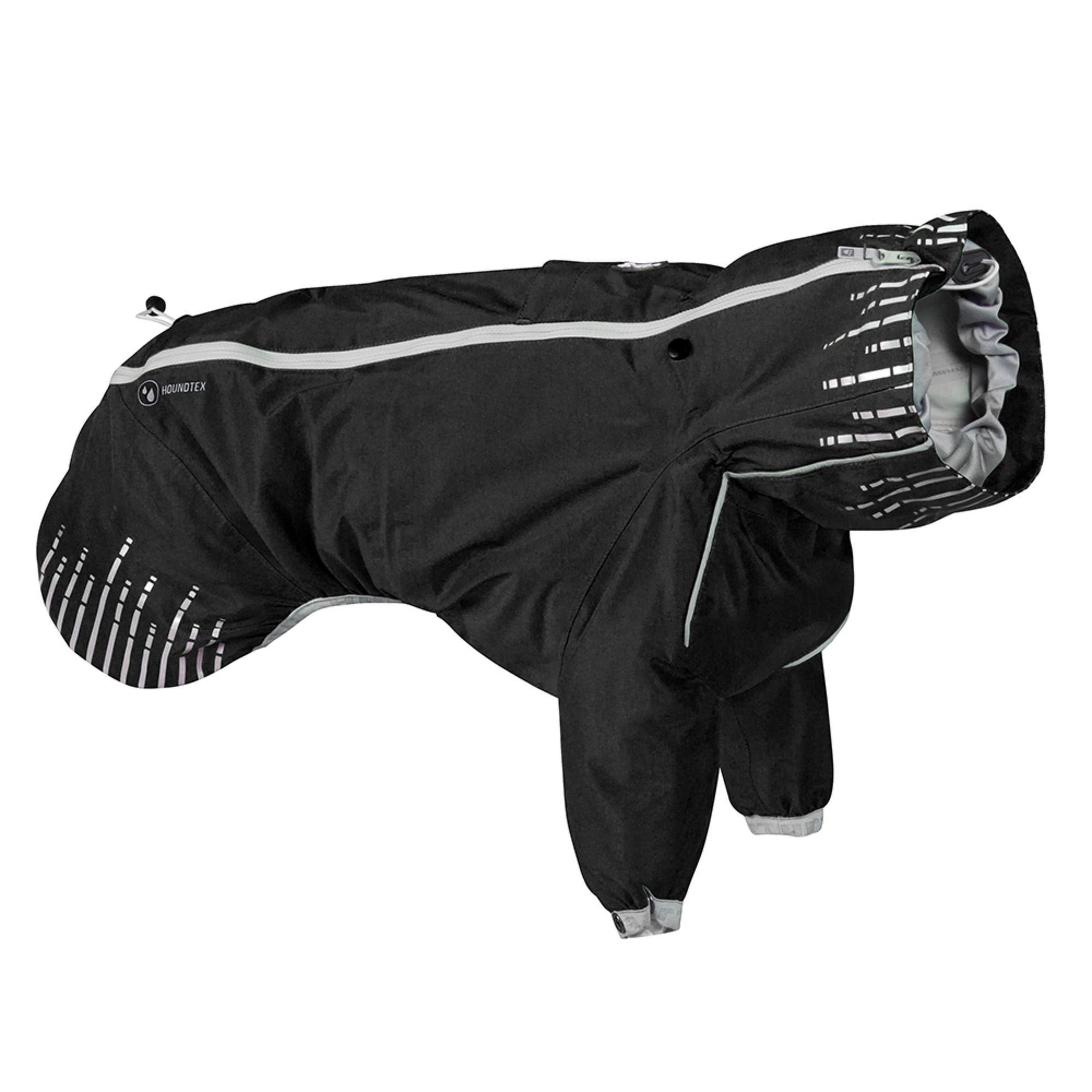 Hurtta Rain Blocker Dog Coat - Raven