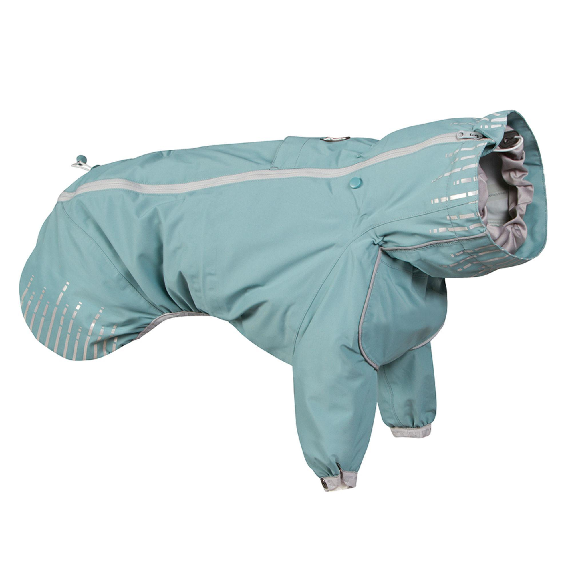 Hurtta Rain Blocker Dog Coat - Stream
