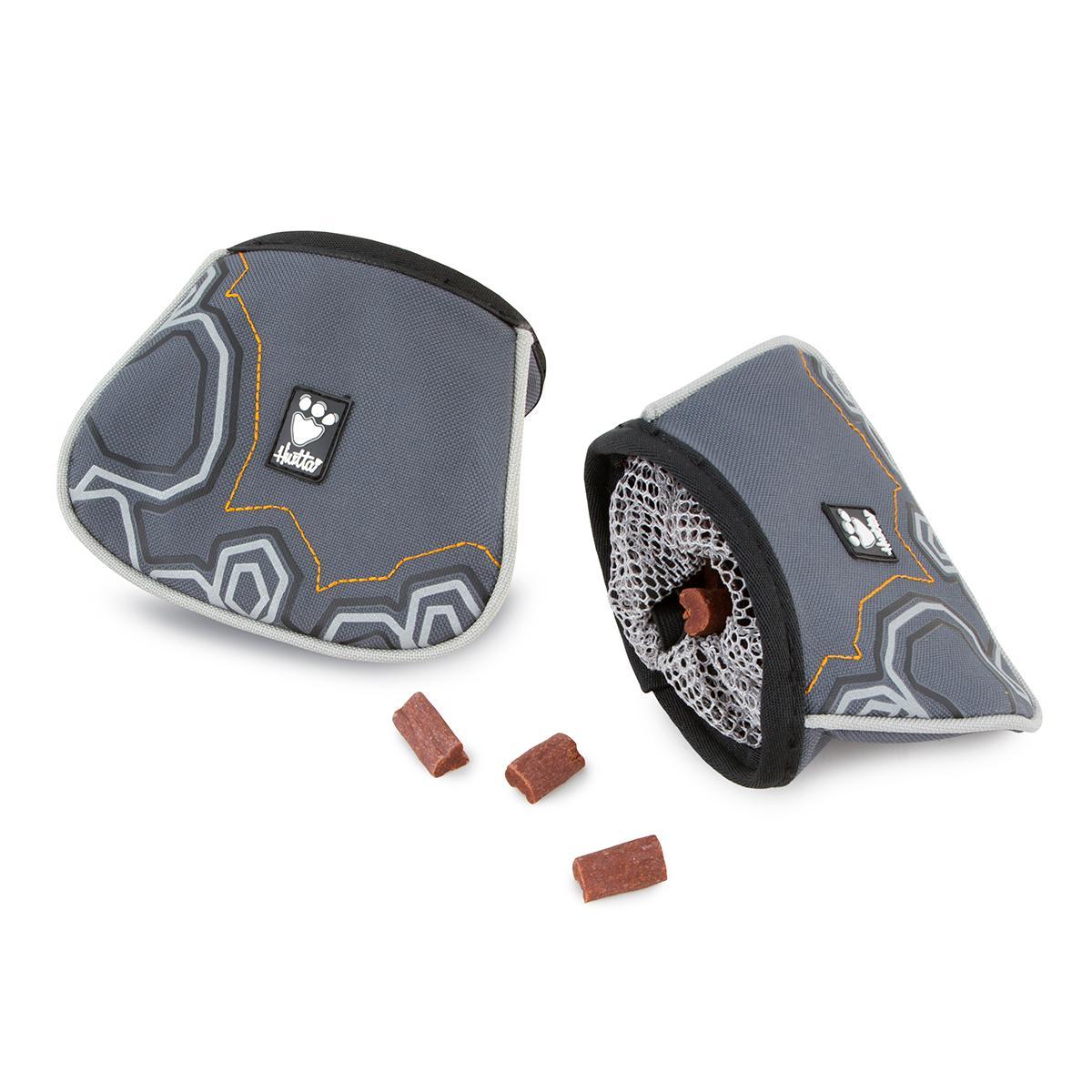 Hurtta Trick Pocket Treat Bag - Granite Gray