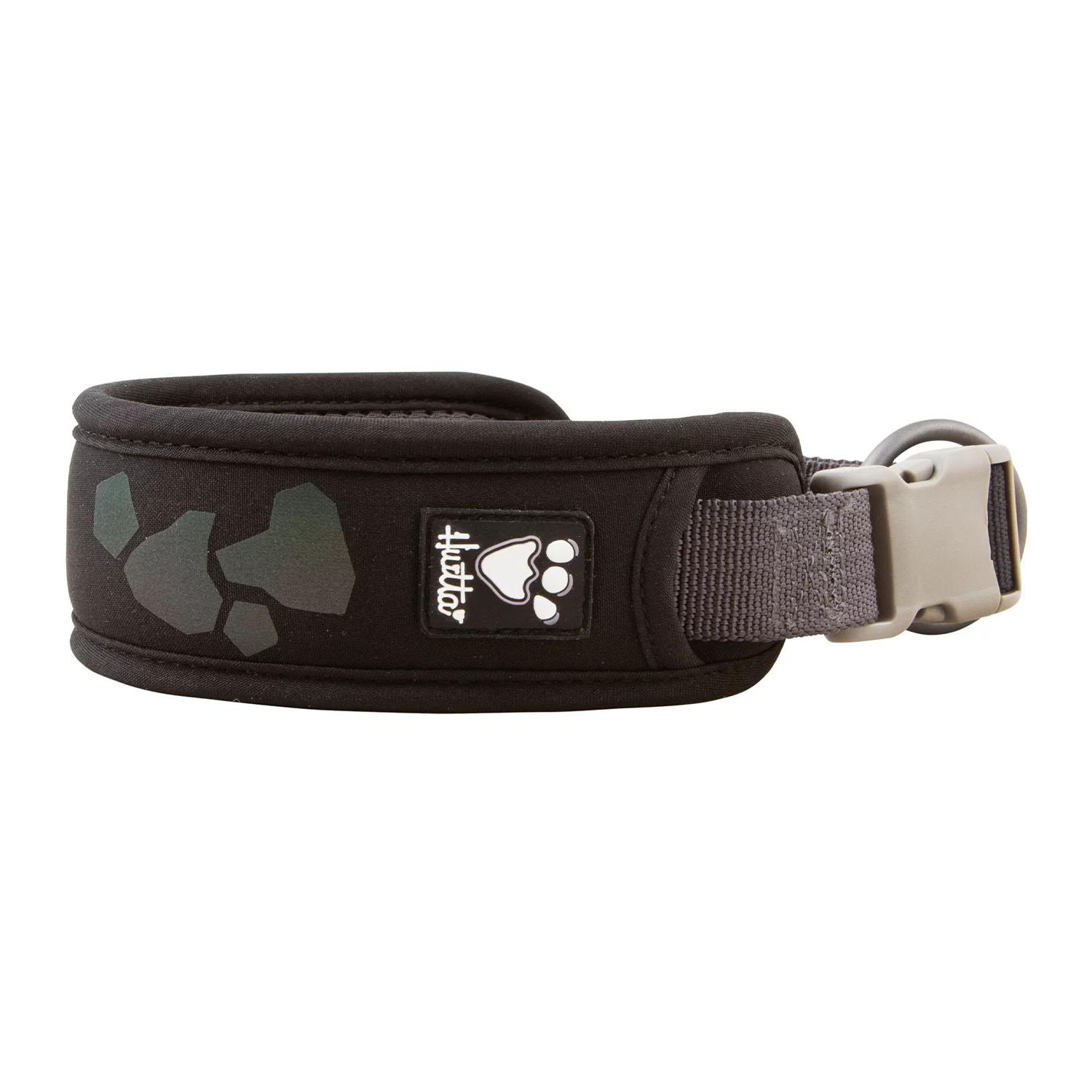 Hurtta Weekend Warrior Dog Collar - Raven