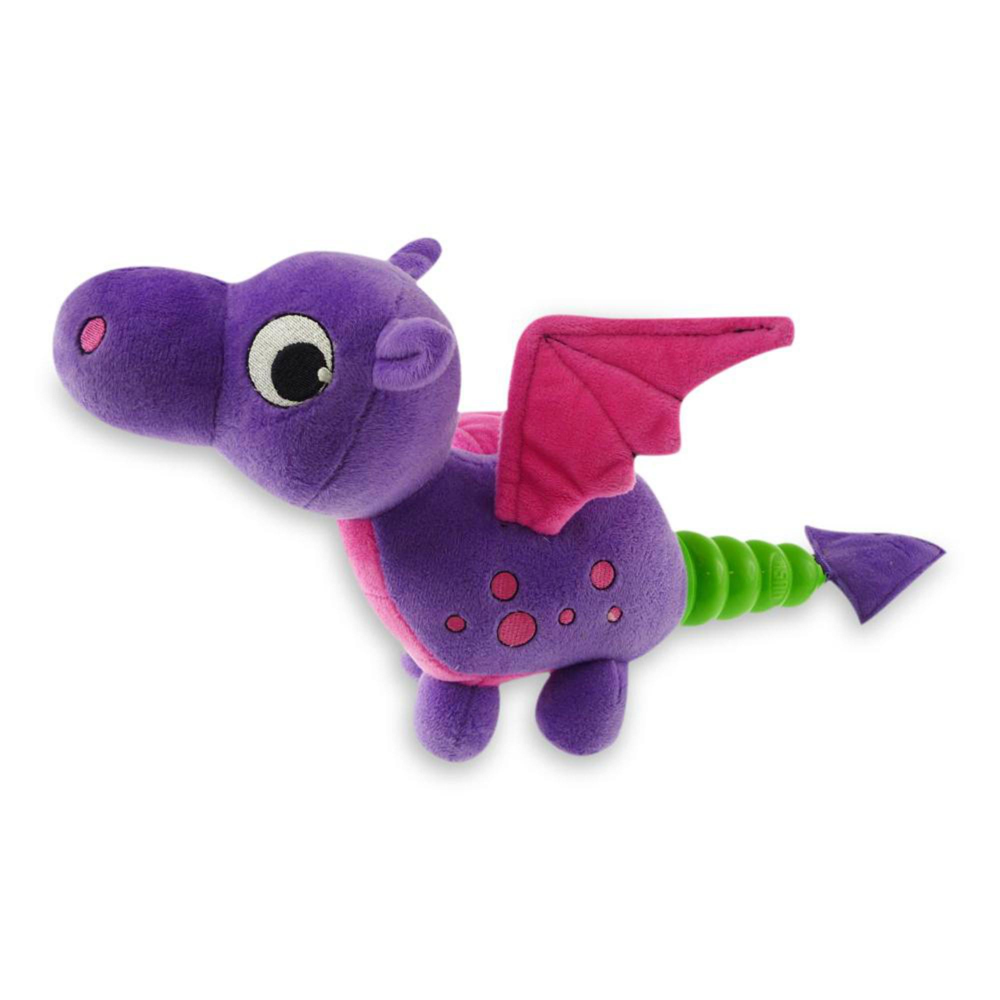 Hush Plush Dog Toy - Dragon