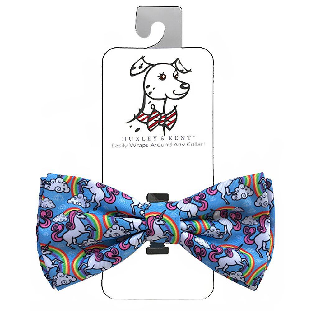 Huxley & Kent Dog and Cat Bow Tie Collar Attachment - Magic Unicorn