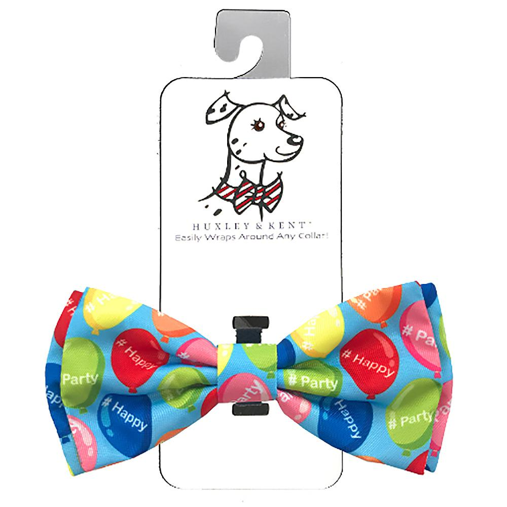 Huxley & Kent Dog Bow Tie Collar Attachment - Happy
