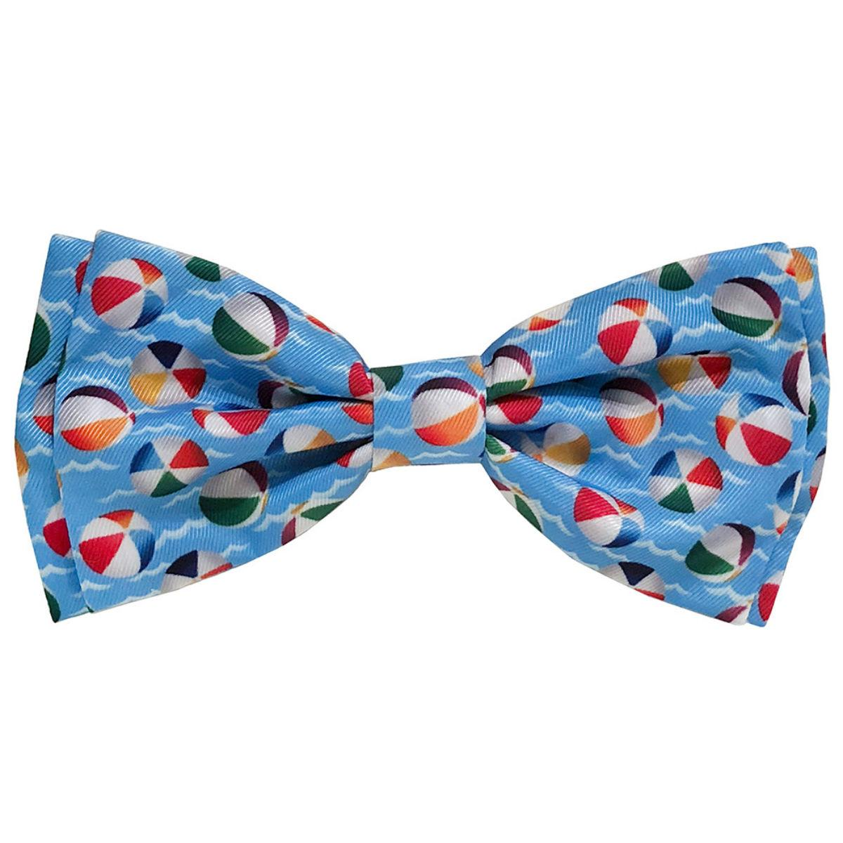 Huxley & Kent Dog and Cat Bow Tie Collar Attachment - Pool Party