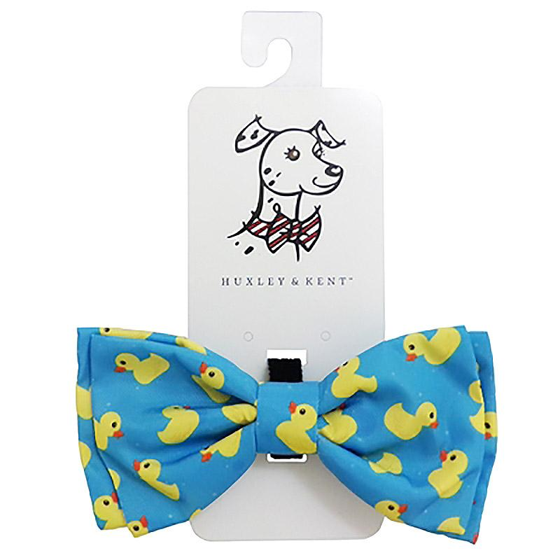 Huxley & Kent Dog and Cat Bow Tie Collar Attachment - Lucky Ducky
