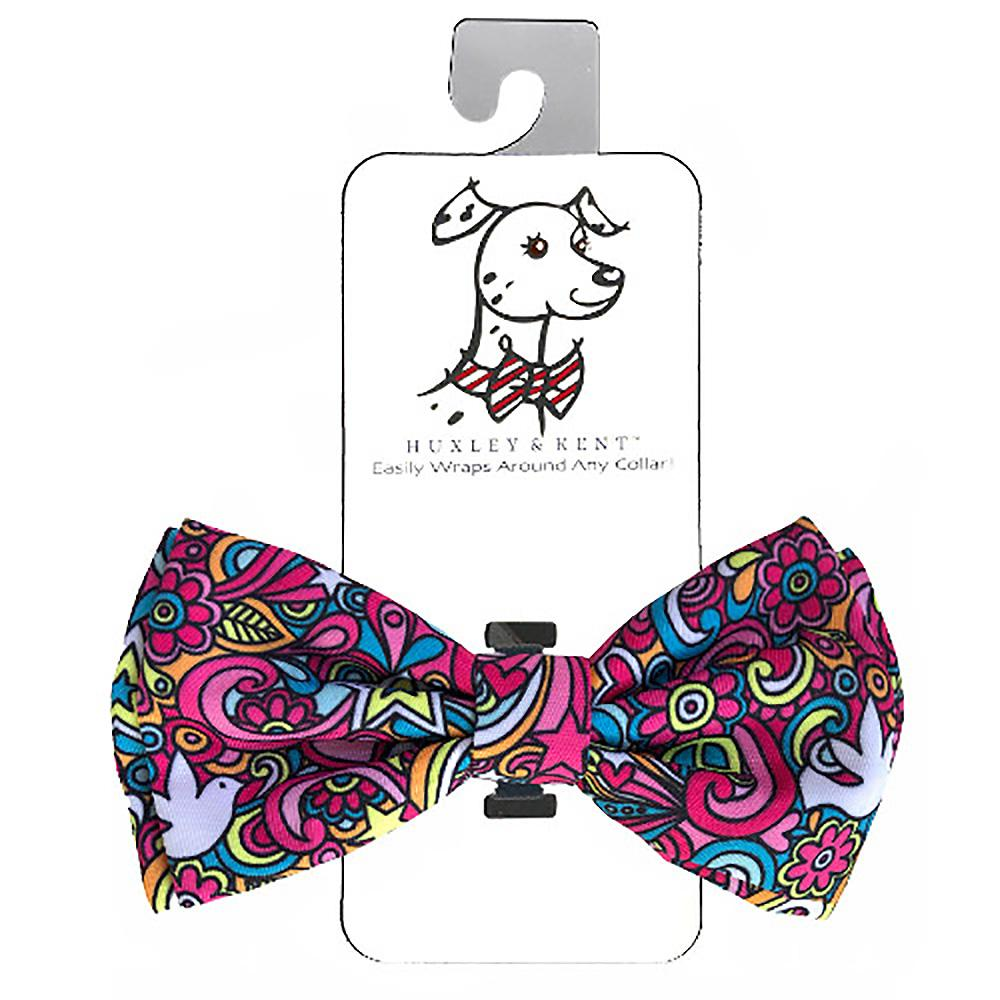 Huxley & Kent Dog and Cat Bow Tie Collar Attachment - Pop Art