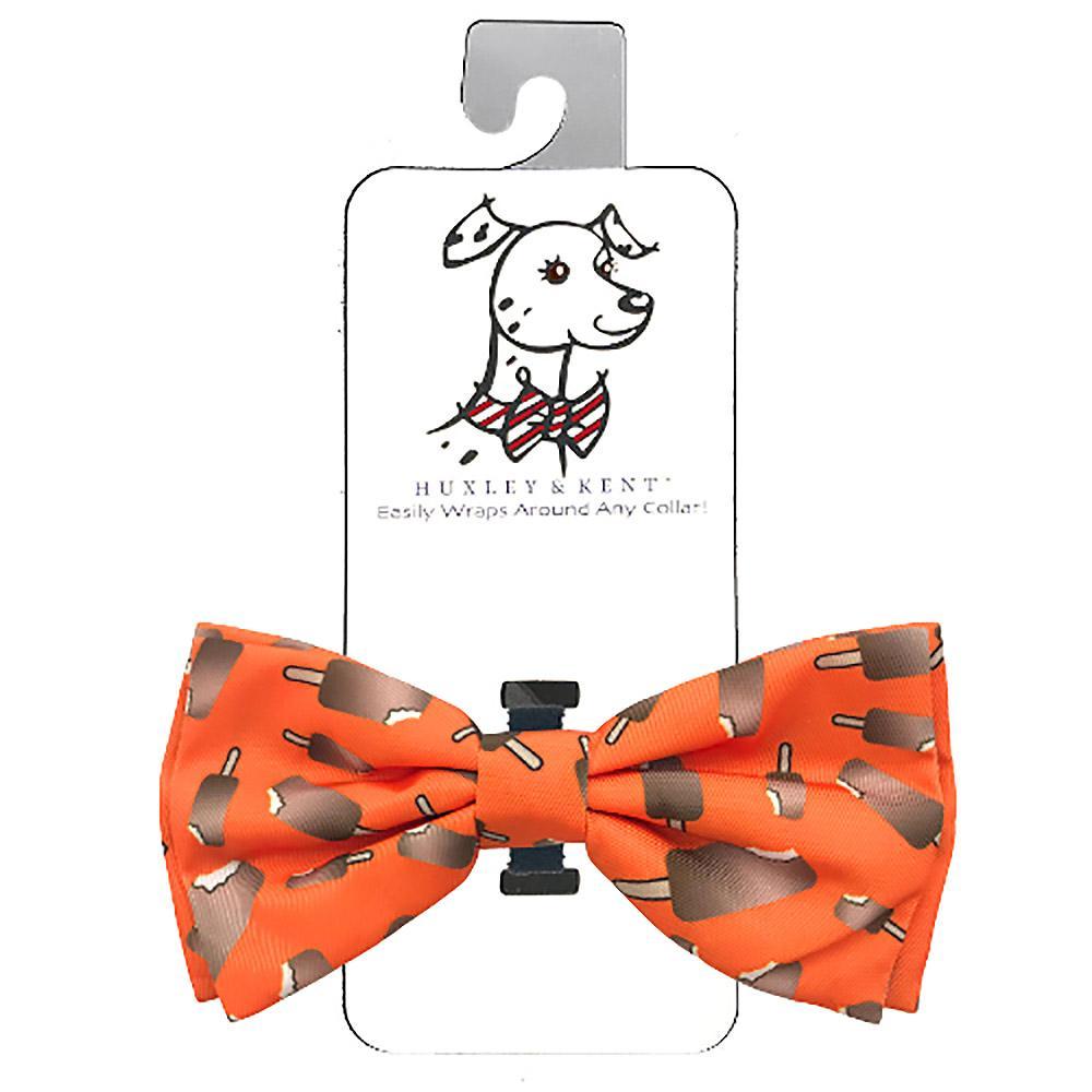 Huxley & Kent Dog Bow Tie Collar Attachment - Ice Cream Bar