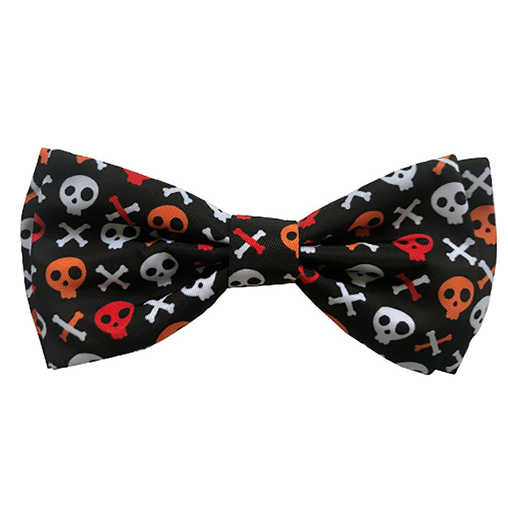 Huxley & Kent Dog Bow Tie Collar Attachment - Skull and Bones